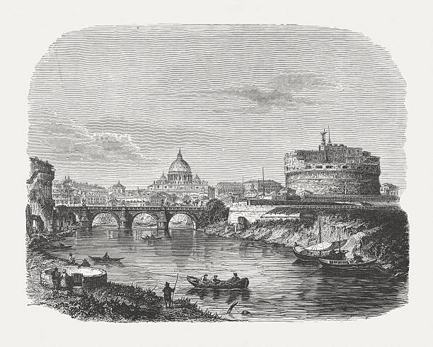 Castel Sant'angelo Clip Art, Vector Images & Illustrations.