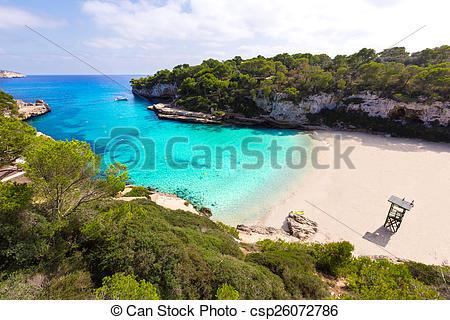 Pictures of Majorca Cala Llombards Santanyi beach Mallorca.