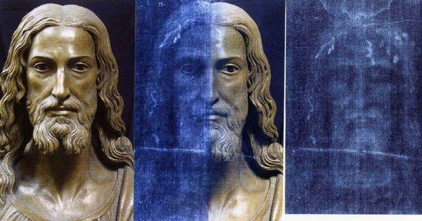 Sábana Santa. Rostro de Jesús.