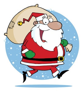 Free clipart of santa claus.