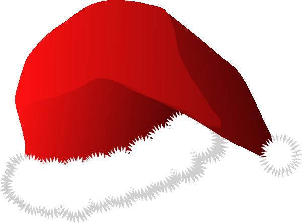 Santa hat christmas hat clipart.
