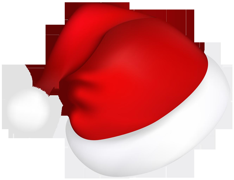 Santa hat clipart outline png.