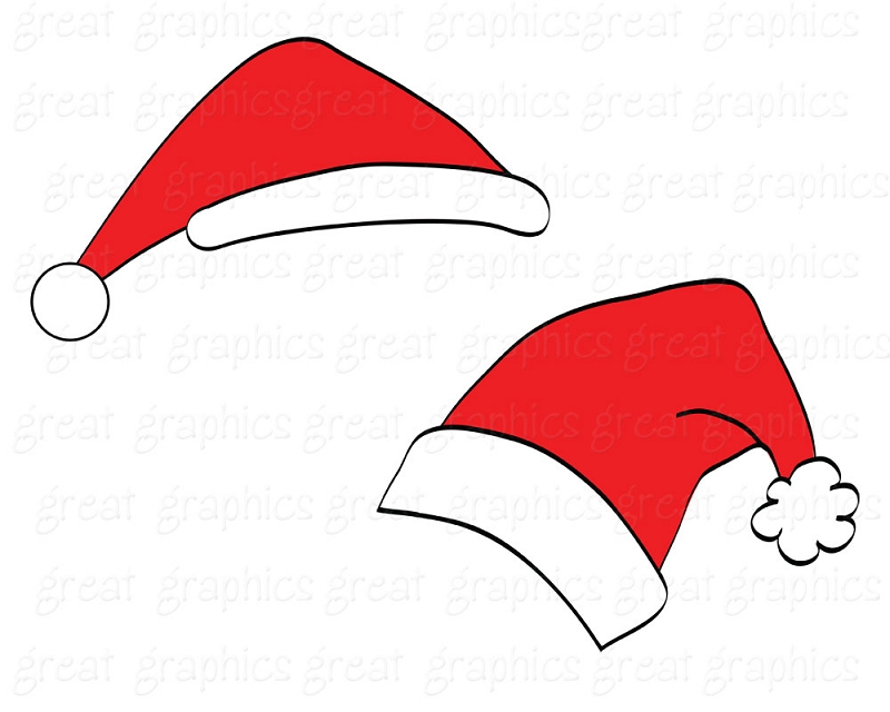 Santa hat clipart free transparent.