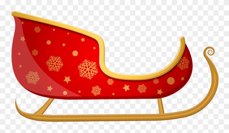 Clipart Santa Sleigh.