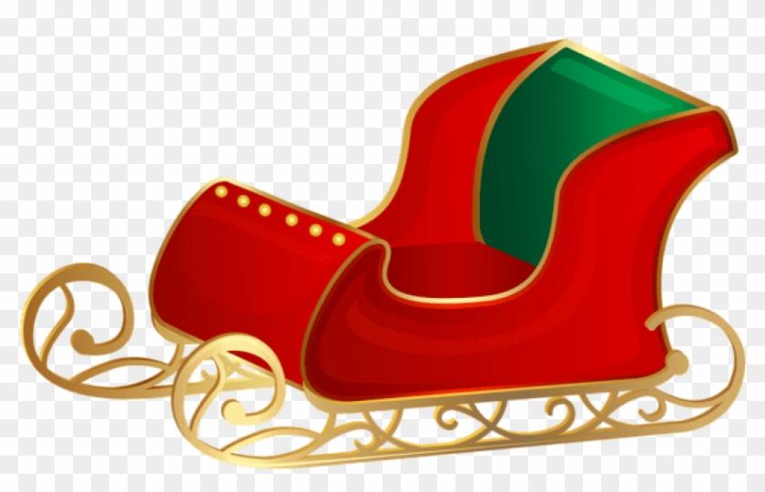 Free Png Christmas Santa Sleigh Png Png.