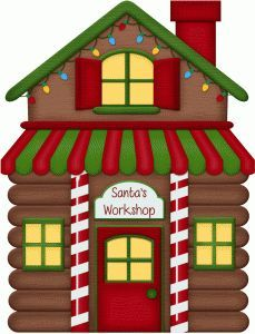 Santas village clipart 3 » Clipart Portal.