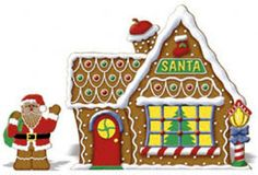 Santa's Workshop Cookie House.