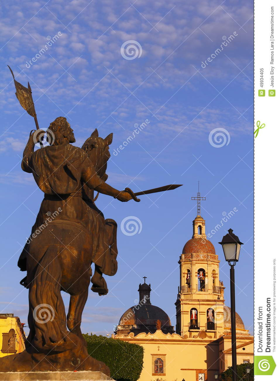 Santiago Apostol I Stock Photo.