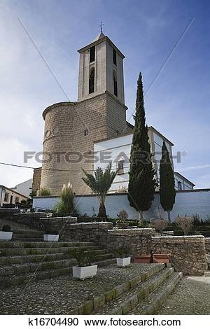 Stock Photography of Parish Church of Santiago apostle k16704490.