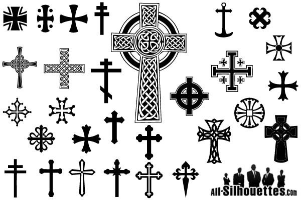 Free Crosses Vectors.