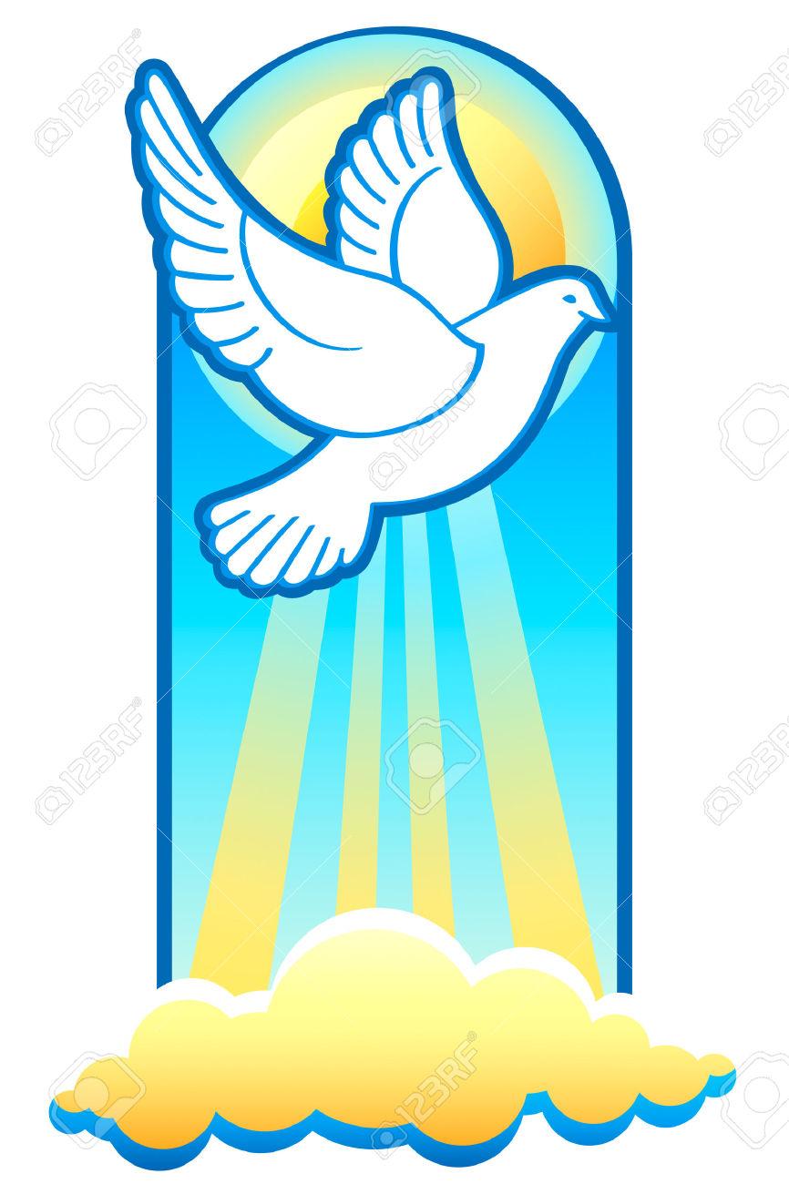 Espiritu santo clipart.