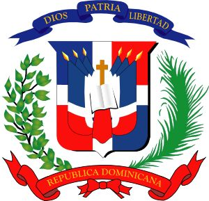 santo domingo flag image.