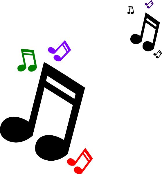 Clip Art Musical Notes Symbols Clipart.