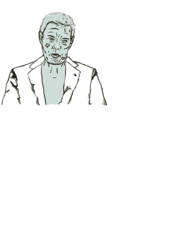 Free Clipart: Zombie.