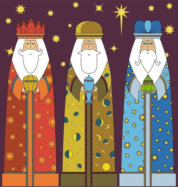 1000+ images about Los Tres Reyes Magos. on Pinterest.