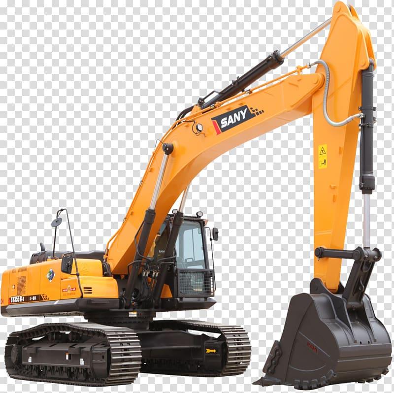 Sany Excavator Heavy equipment Architectural engineering.