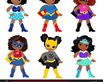 Girl superheroes.