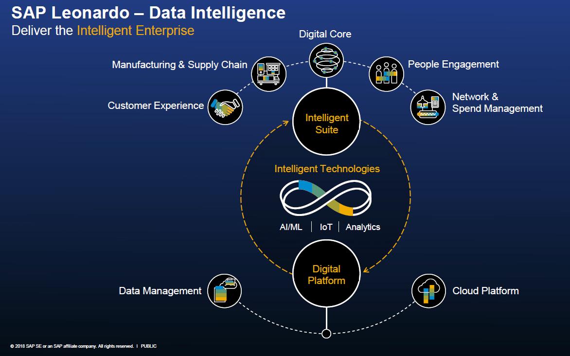 Intelligent Enterprise and SAP Leonardo.