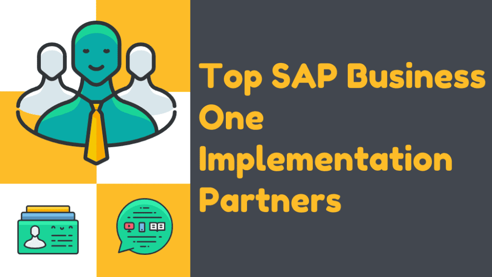 Top 19 SAP Business One Consulting Partners.