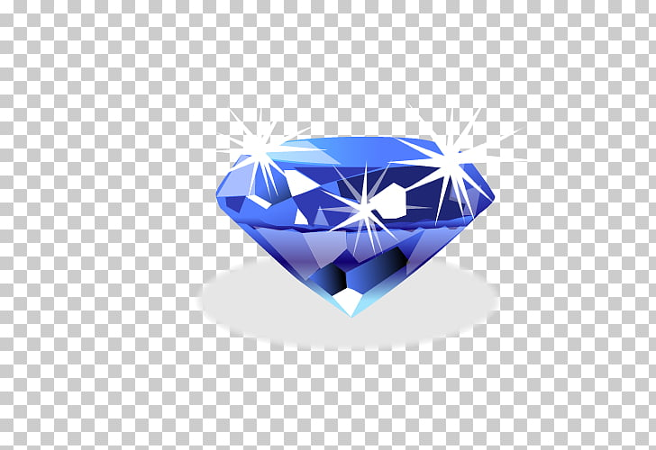 Diamond Adobe Illustrator Euclidean Icon, Sapphire PNG.