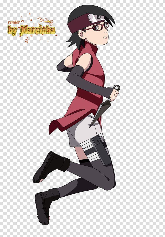 Sarada Uchiha Sasuke Uchiha Boruto Uzumaki Naruto Uzumaki.