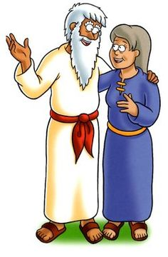 Abraham And Sarah Clip Art.