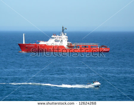 Sarah Baartman, A South African Coast Patrol Ship Stock Photo.