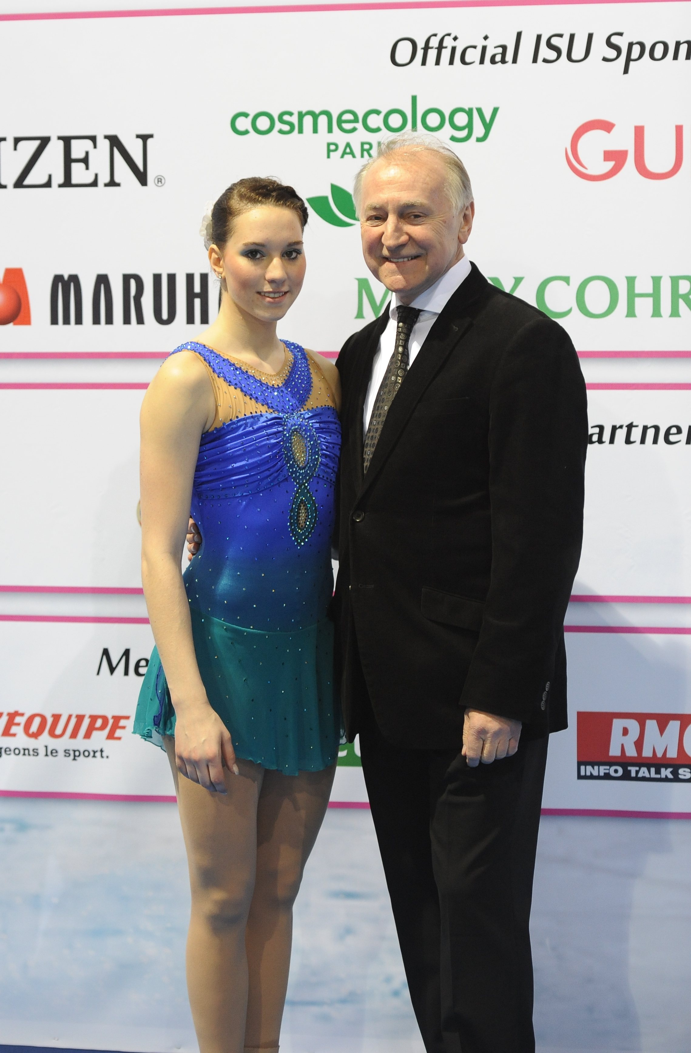 File:Peter Sczypa, German National Coach Ladies and Sarah Hecken.