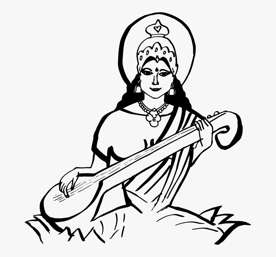 Saraswati Hd Png.