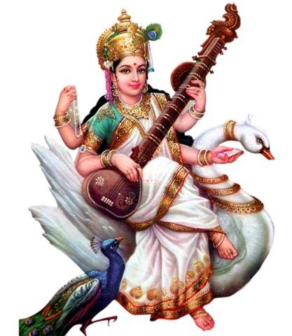 Download Free png Goddess Saraswati Maa.