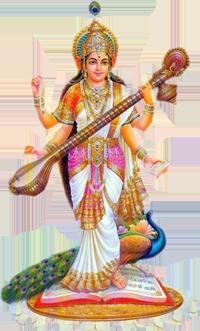 Saraswati PNG Transparent Images.
