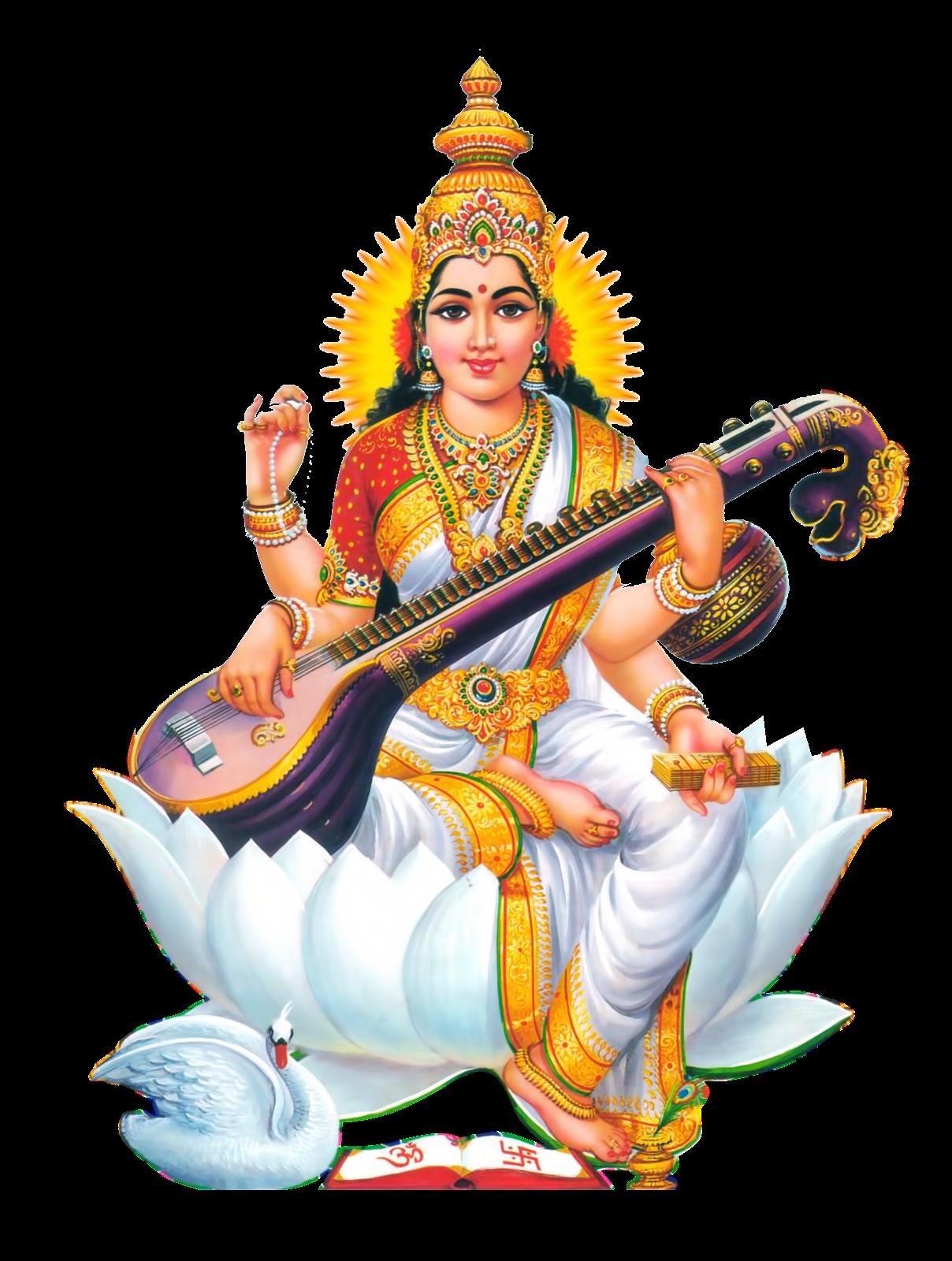 Saraswati HD PNG Transparent Saraswati HD.PNG Images..