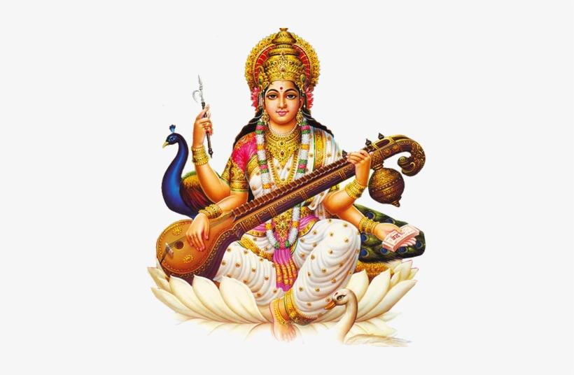 Saraswati Devi Images Png Transparent PNG.