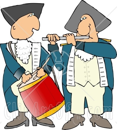 Battle of saratoga clipart.