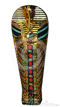 Egyptian coffin clipart.