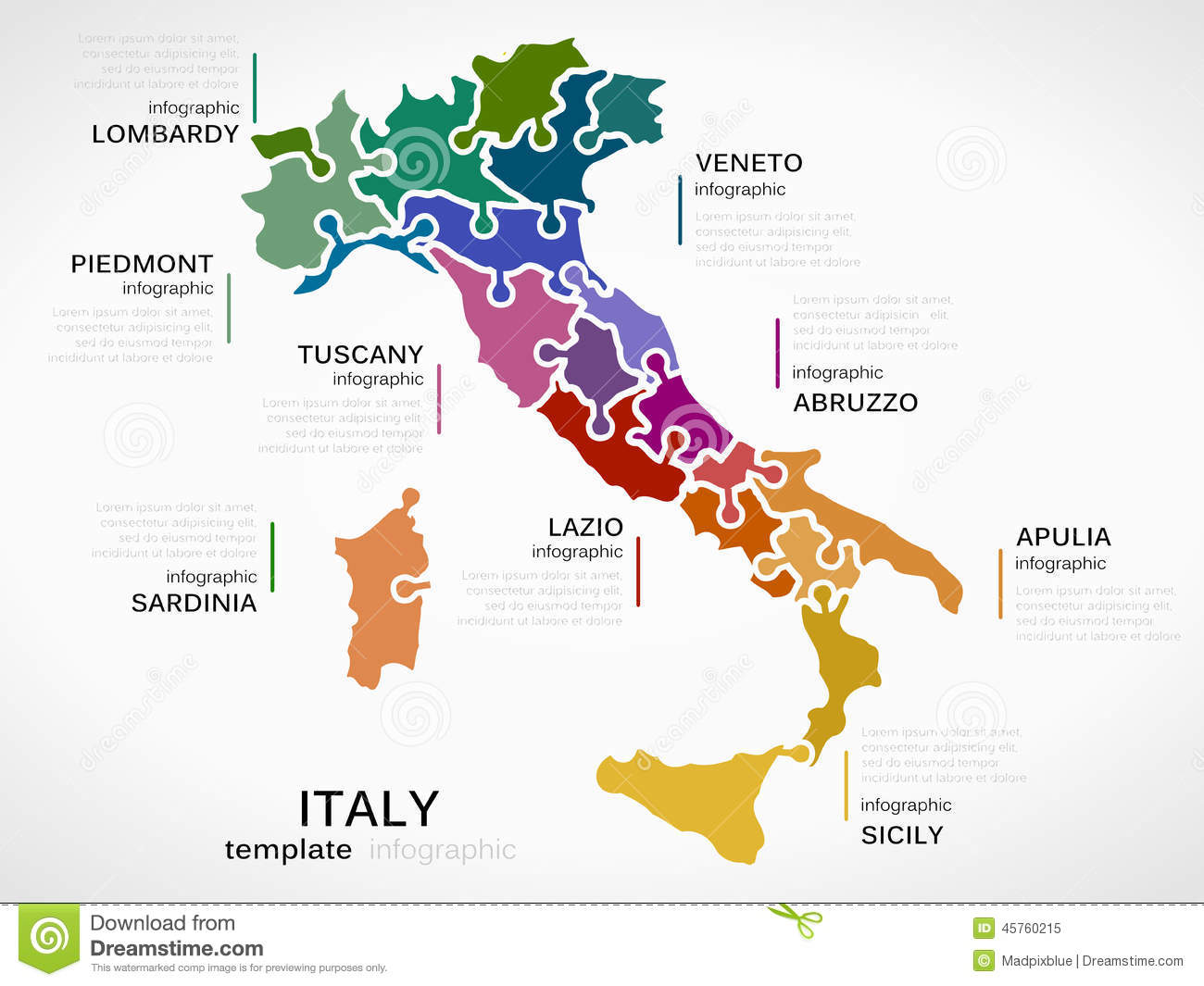 Sardinia Stock Illustrations.