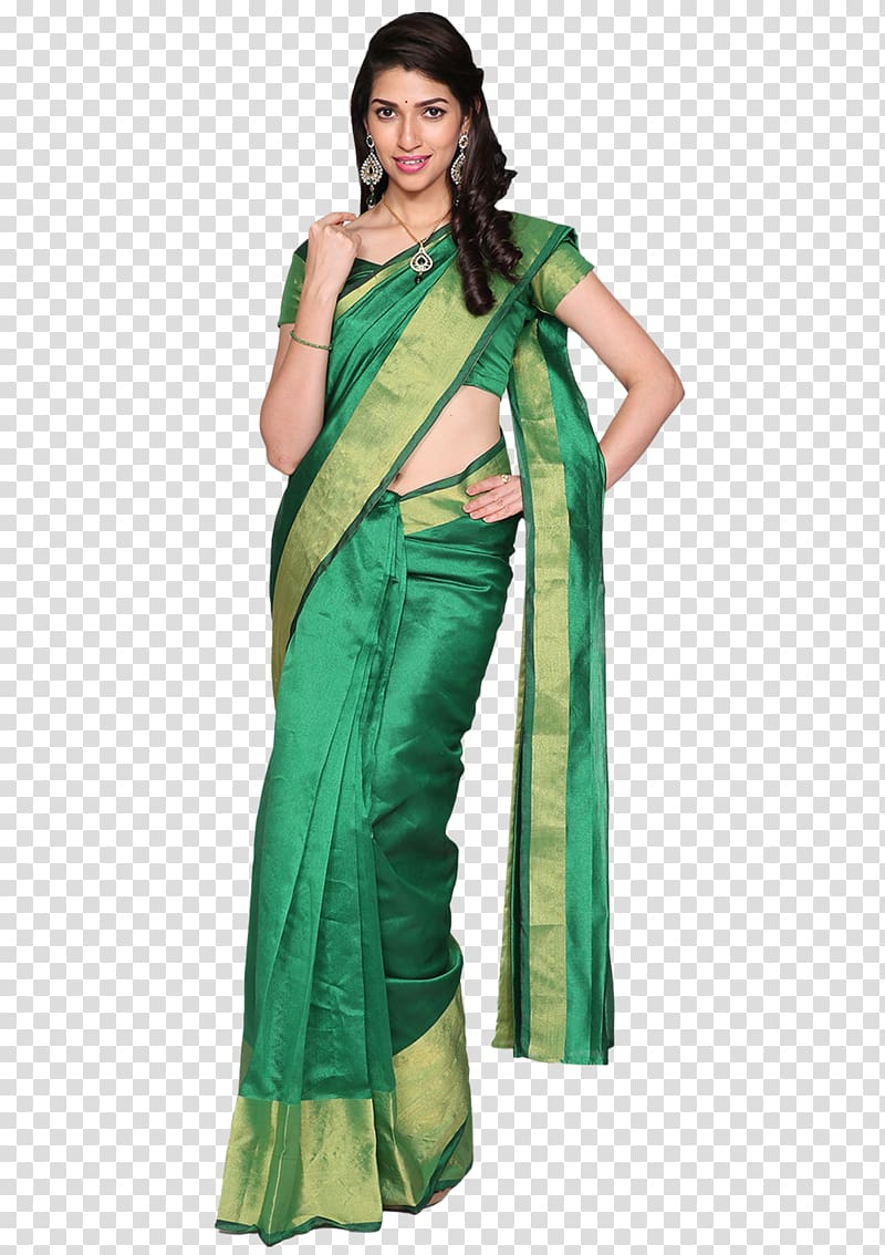 Costume Silk, sarees transparent background PNG clipart.