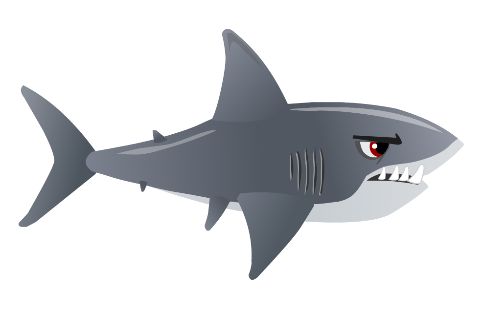 Shark PNG Transparent Images.