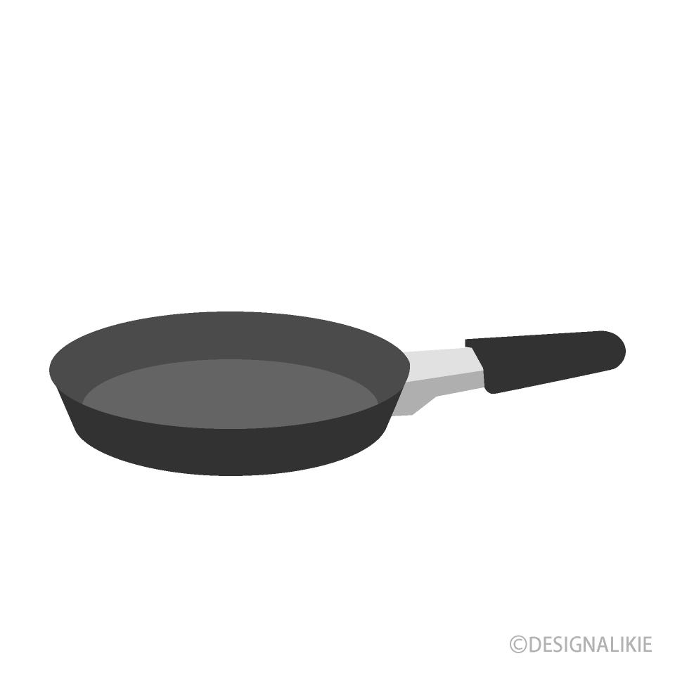Free Frying Pan Clipart Image|Illustoon.