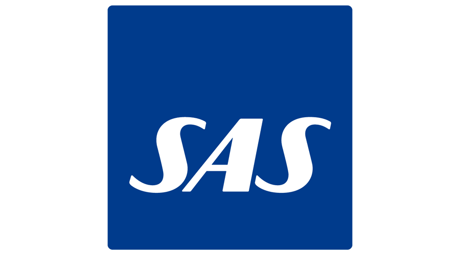 Scandinavian Airlines (SAS) Vector Logo.