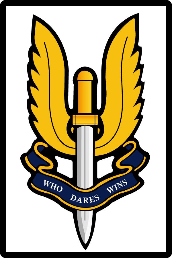 British SAS Insignia.