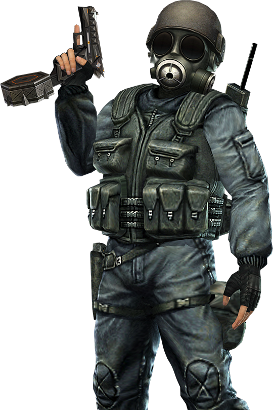 HD Counter Strike 1.6 Sas Transparent PNG Image Download.