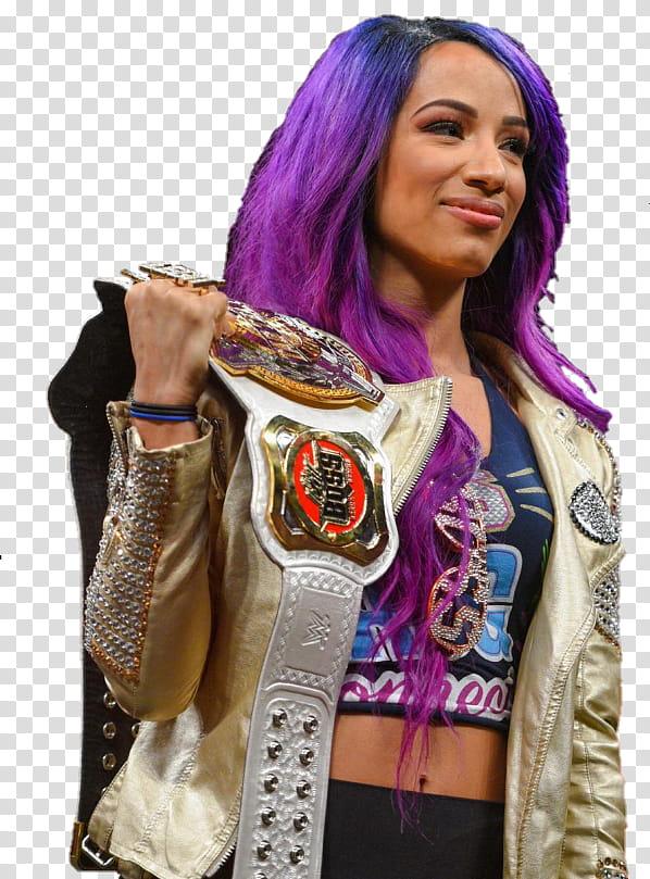 Sasha Banks NXT transparent background PNG clipart.