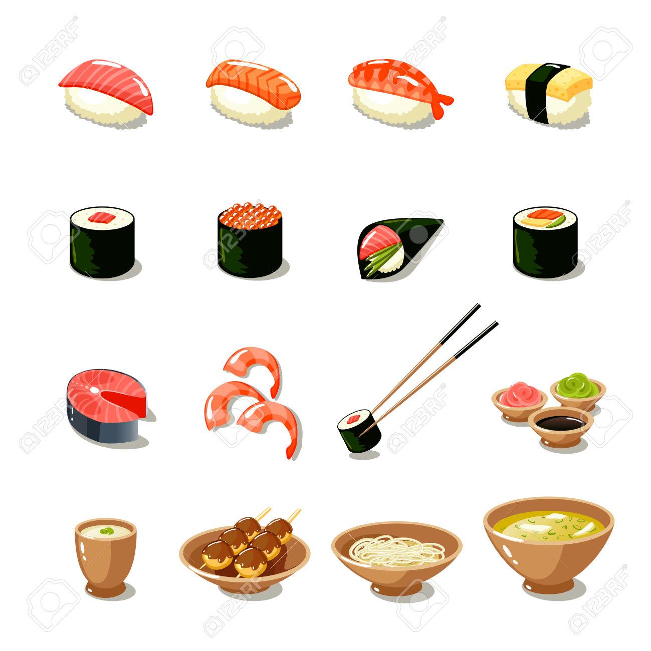 4,113 Sashimi Stock Vector Illustration And Royalty Free Sashimi.