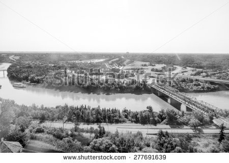 Saskatchewan River Stock Photos, Royalty.
