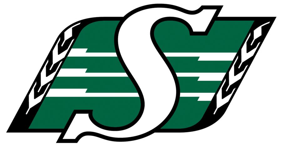 Saskatchewan Roughriders Primary Logo.