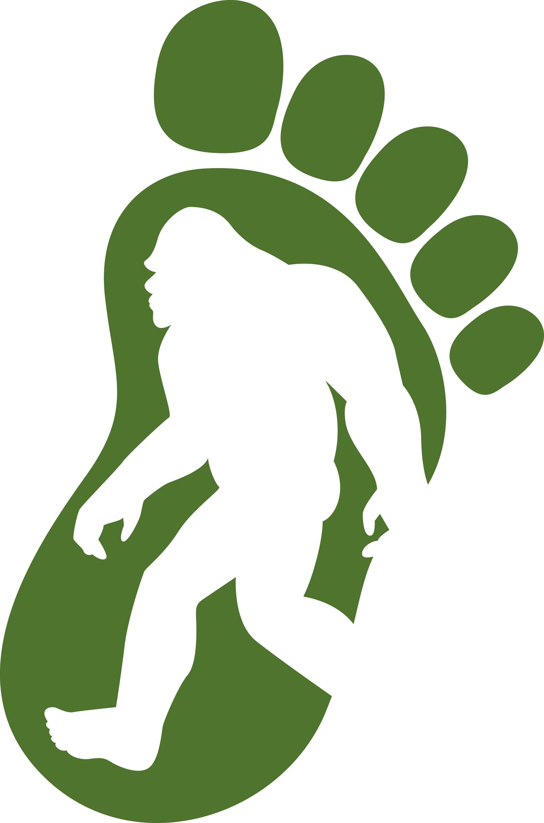 Bigfoot And Sasquatch Clipart.