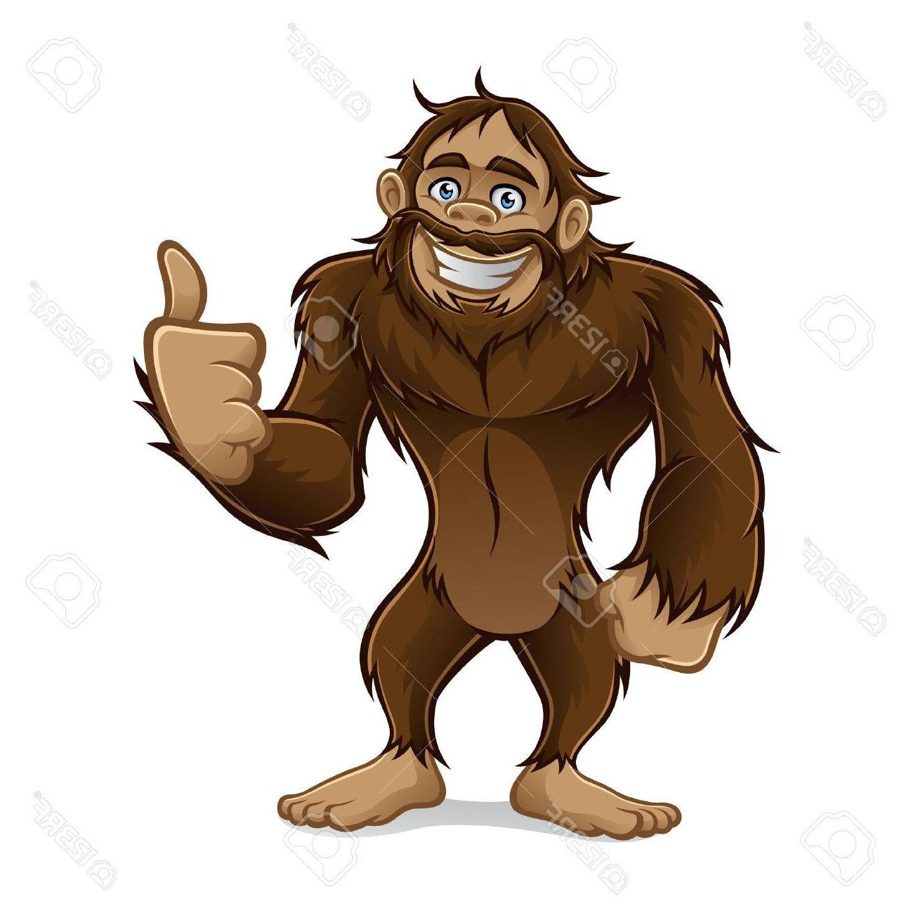 HD Sasquatch Vector File Free » Free Vector Art, Images.