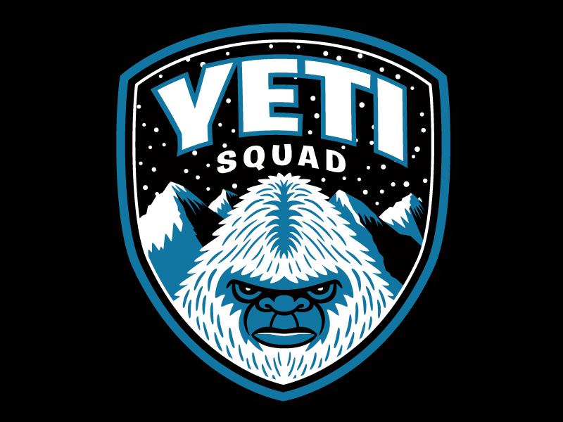 Yeti Squad Bigfoot Patrol Patch.