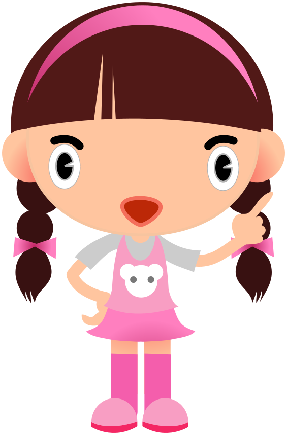 Girl clip art black and white free clipart images.